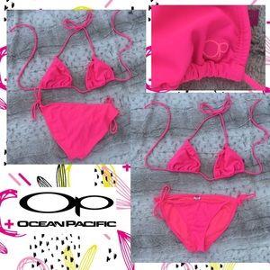Pink OP OCEAN PACIFIC Bikini